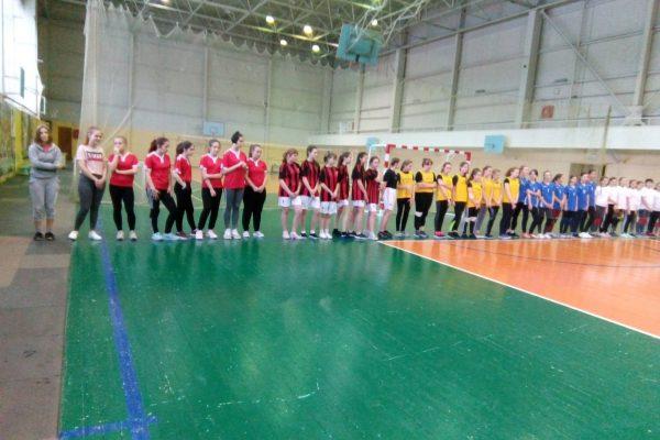 Итоги соревнований по волейболу для юношей и девушек 2004 – 2005 года рождения